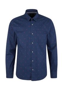 Herren Regular: Hemd mit Allover-Print