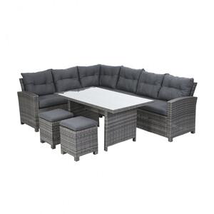 Greemotion Lounge-Set Tessin, Alu, 5-teilig