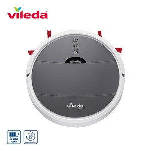 Saugroboter VR 102 • 3 verschiedene Reinigungsmuster • EPA-Filter: erfasst 99,7 % aller Partikel + Pollen • integrierter Treppensensor • Silent-Modus für geräuscharme Reinigung • Maße: 3