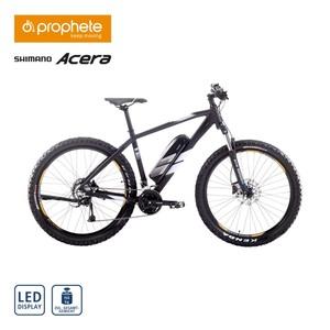Alu-E All Terrain-Bike EHM 150 27,5er • Fahrunterstützung bis ca. 25 km/h • Blaupunkt Li-Ionen-Akku 36 V/10,4 Ah, 374 Wh • Reichweite: bis ca. 120 km (je nach Fahrweise) • Blaupunkt wartungs