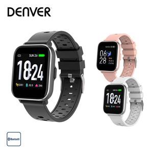 """Smartwatch SW-163 · mit Herzfrequenzsensor · 1,3""""-Full-Touch-IPS-Display · Multi-Sport-Modus (Laufen, Gehen, Indoor-Run & Radfahren) · Anzeige von SMS, E-Mails, Kalenderereignissen und Social-Med"""