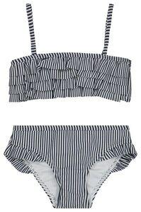 HEMA Kinder-Bikini, Rüschen Dunkelblau