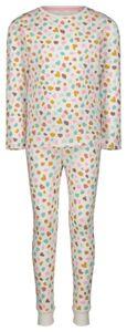 HEMA Kinder-Pyjama, Punkte Eierschalenfarben