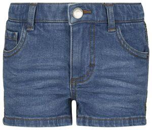 HEMA Kinder-Jeansshorts, Paspel Jeansfarben