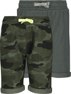 HEMA 2er-Pack Kinder-Shorts Dunkelgrün