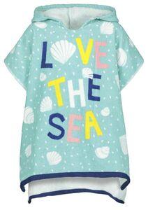 HEMA Kinder-Strandponcho, 60 X 60 Cm, RPET, Love The Sea