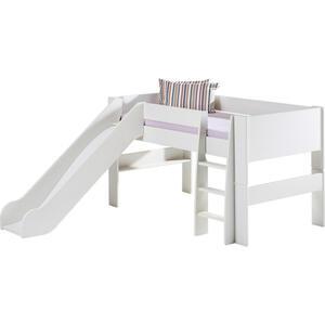 Carryhome Spielbett 90/200 cm weiß  FOR Kids  Holz