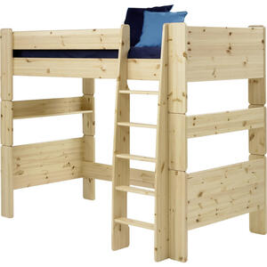 Carryhome Hochbett kiefer massiv 90/200 cm kieferfarben  FOR Kids  Holz