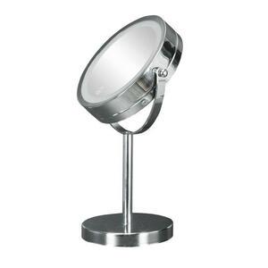 Kleine Wolke Leuchtspiegel chromfarben  Bright Mirror  Metall