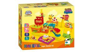 Müller - Toy Place - Küchen Set mit Softknete, 45 Teile