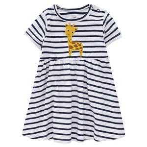 Baby Kleid mit Giraffen-Applikation