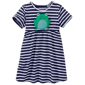 Baby Kleid mit Frosch-Applikation