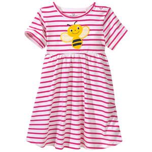 Baby Kleid mit Bienen-Applikation