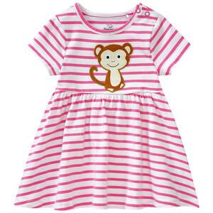 Baby Kleid mit Affen-Motiv