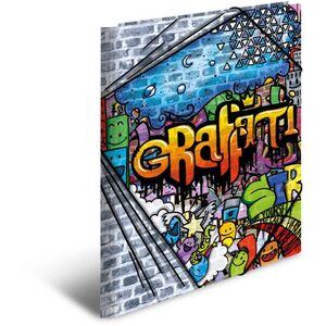 Eckspanner DIN A3 - Graffiti