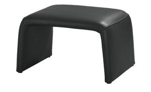 Hocker - schwarz - Polstermöbel