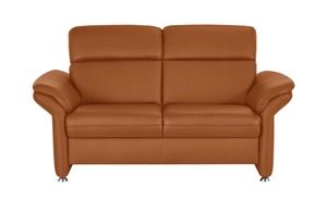 meinSofa Ledersofa - orange - Polstermöbel