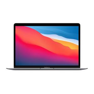 Apple MacBook Air (M1, 2020) CZ124-0100 SpaceGrau Apple M1 Chip mit 7-Core CPU, 16GB RAM, 256GB SSD, macOS - 2020