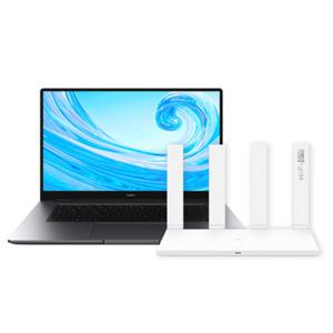"HUAWEI MateBook D 15 WAQ9BR und HUAWEI WiFi AX3 Router Bundle 39,62cm (15,6"") IPS, Ryzen 5 3500U, 8GB RAM, 256GB SSD, Radeon Vega 8, Windows"