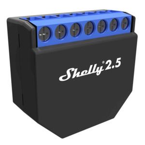 Shelly 2.5 WiFi-Switch mit Messfunktion