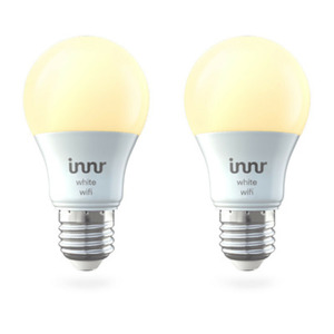 Innr WiFi Bulb White E27 2-pack 2700K, 806lm, Innr App