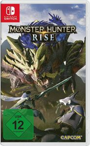 Gaming Monster Hunter Rise (Switch)