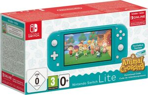 Nintendo Nintendo Switch Lite Türkis & Animal Crossing: New Horizons-