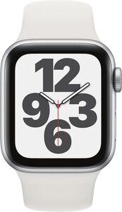 Apple Watch SE GPS, 40mm Alu weisses Armband - Regular