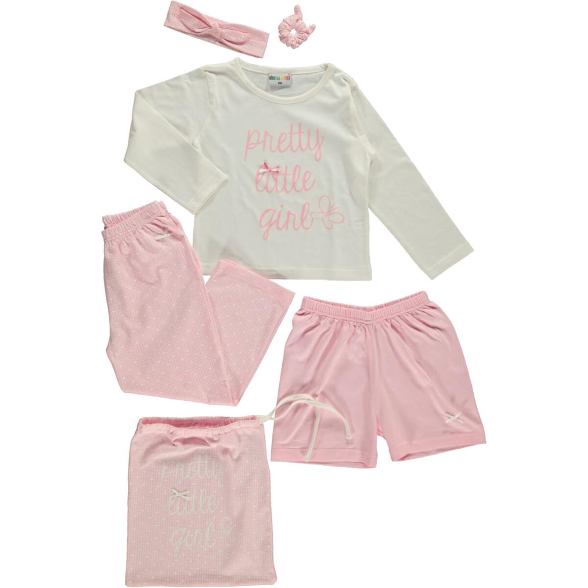 Bild 1 von Mädchen Nachtwäsche Set bestehend aus 5 Teilen