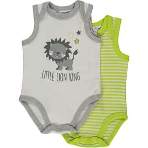 Baby 2er Body Pack ohne Arm