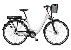 Telefunken Damen City E-Bike RC657 Multitalent mit 7-Gang Shimano Nabenschaltung