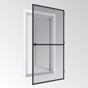 Powertec Insektenschutz -Tür 100x210cm Anthrazit
