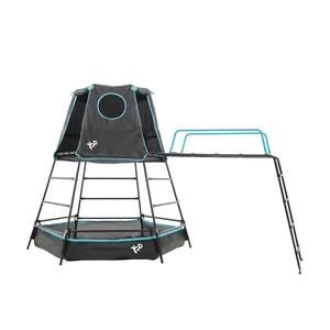TP Toys Klettergerüst Spielturm Explorer schwarz