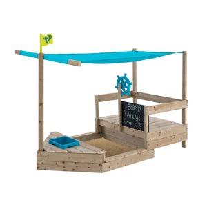 TP Toys Holz Sandkasten Kinderspielboot AHOY