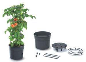 Powertec Garden Tomatenturm anthrazit