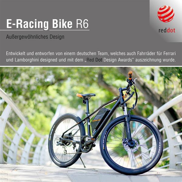 Sachsenrad E-Racing Mountain Bike R6 28 Zoll