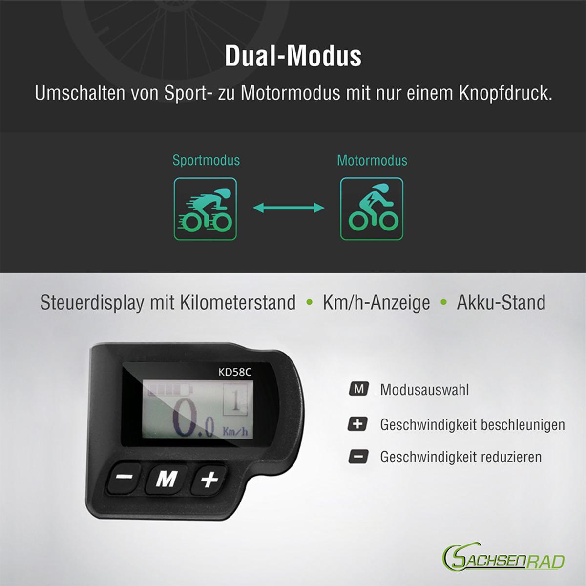 Bild 5 von Sachsenrad E-Racing Mountain Bike R6 28 Zoll
