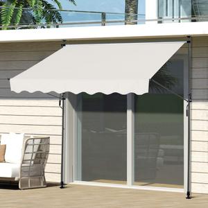 HC Home & Living Klemmmarkise Sonnenschutz 200 x 120 cm - Beige