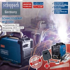Scheppach Inverter-Schweißgerät WSE1000