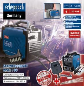 Scheppach Inverter-Schweißgerät WSE1100