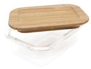 Steuber Frischhaltedose aus Glas, rechteckig, ca. 370 ml