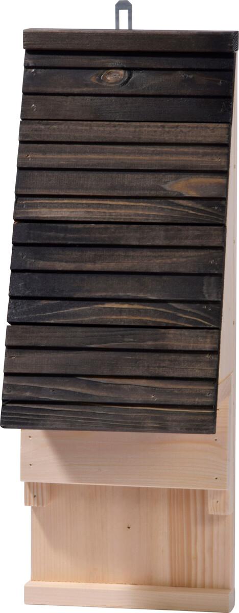Bild 1 von dobar Fledermauskasten mit Belüftungsschlitzen, Schwarz