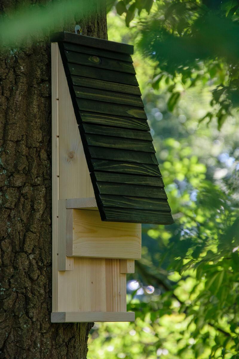 Bild 5 von dobar Fledermauskasten mit Belüftungsschlitzen, Schwarz
