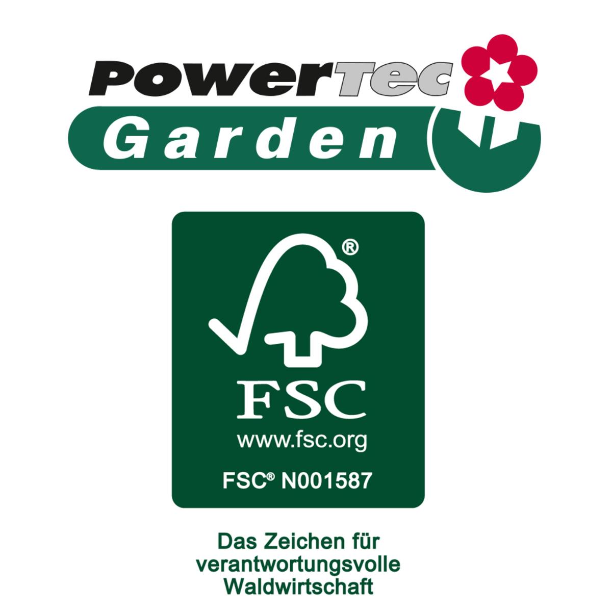Bild 4 von Powertec Garden Hochbeet mit 4 Pflanzkästen