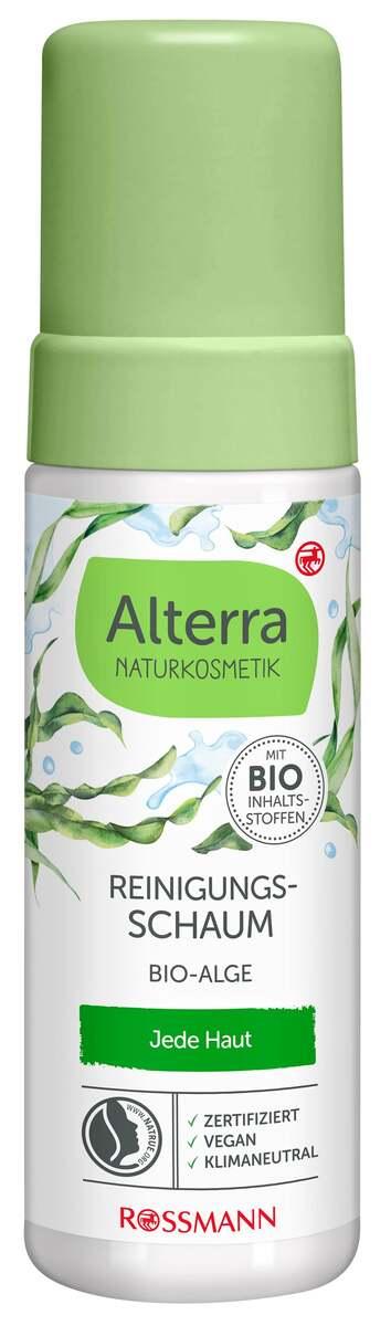 Bild 1 von Alterra NATURKOSMETIK Reinigungsschaum Bio-Alge
