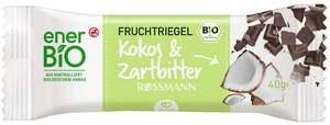 enerBiO Fruchtriegel Kokos & Zartbitter
