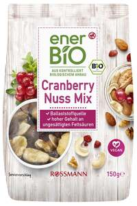 enerBiO Cranberry Nuss Mix