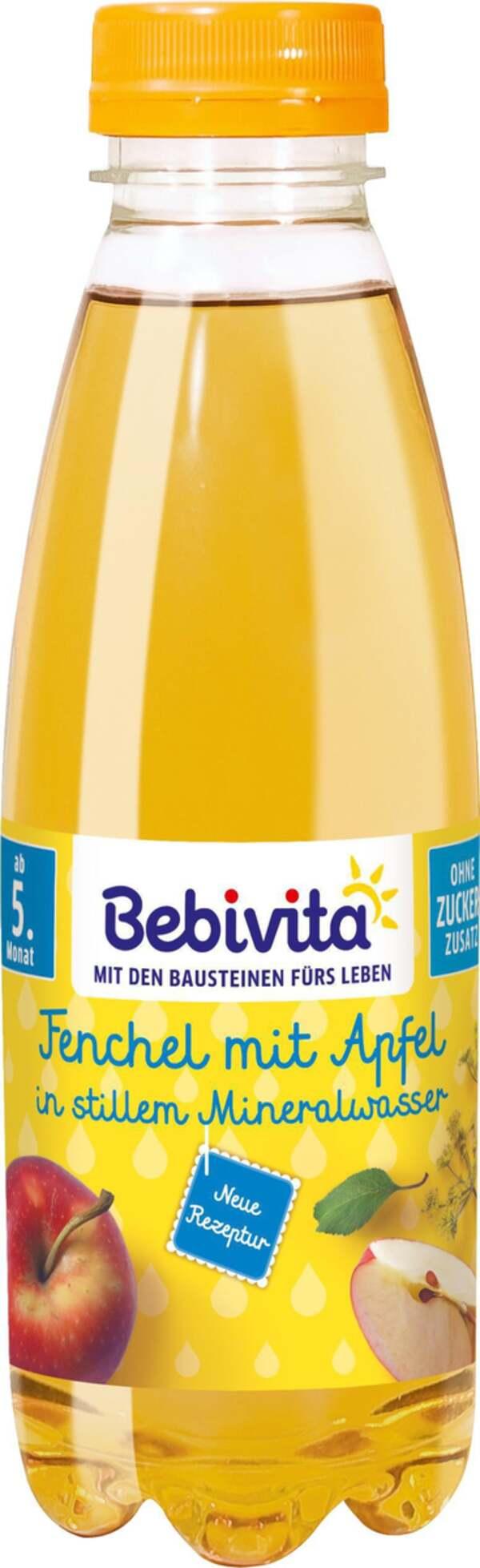 Bebivita Bio Fenchel mit Apfel in stillem Mineralwasser