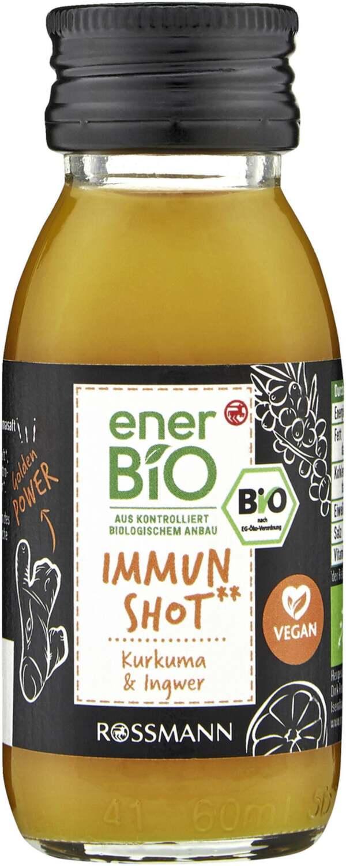 enerBiO Immun Shot** Kurkuma & Ingwer