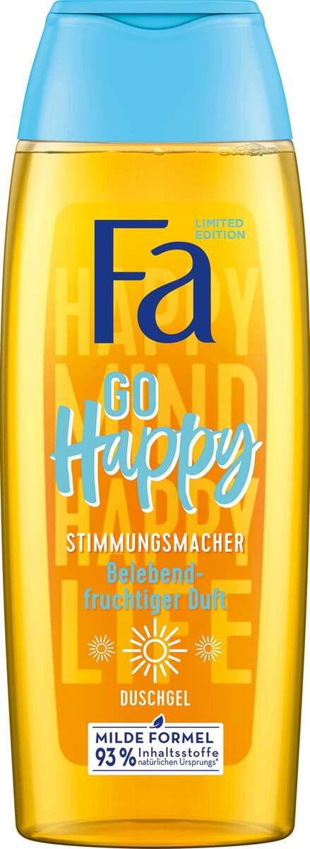 Bild 1 von Fa Duschgel Go Happy Stimmungsmacher